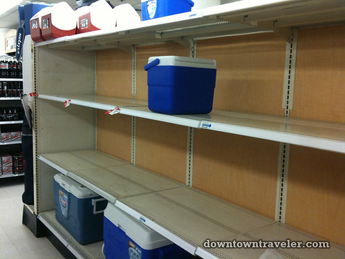 NYC getting ready for Hurricane Irene at Kmart 5