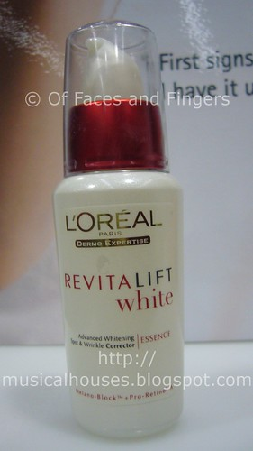 loreal revitalift white essence