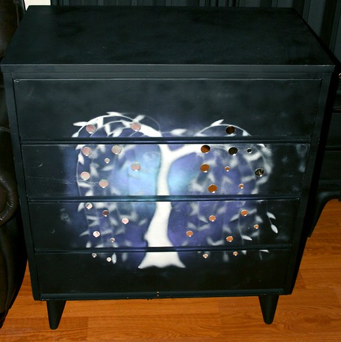 Four Drawer Dresser by Rick Cheadle Art and Designs