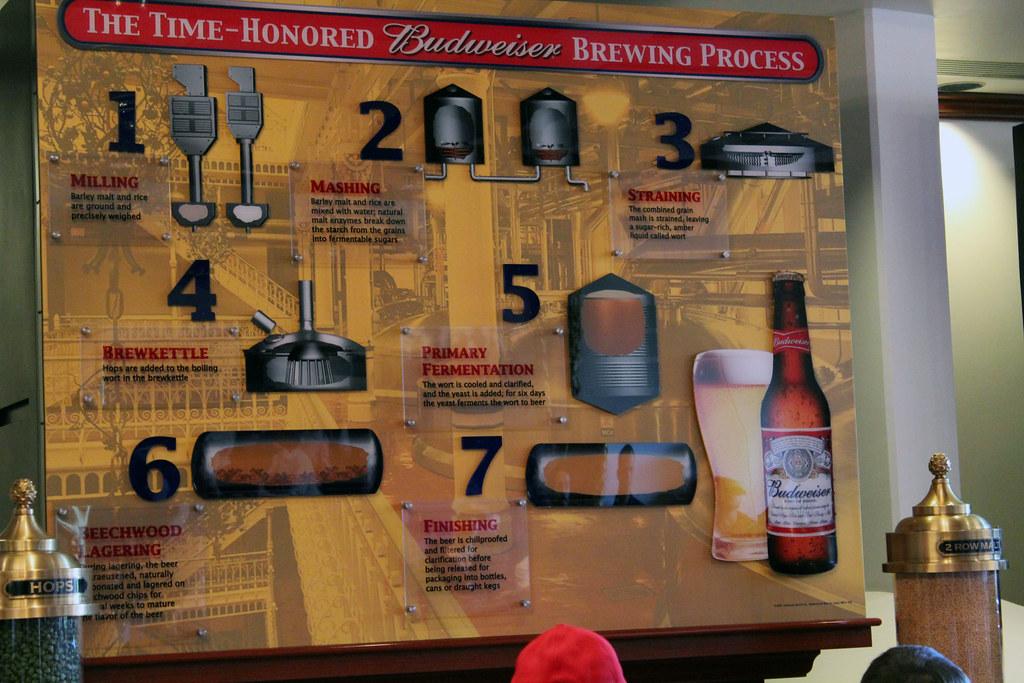 Anheuser Busch / Budweiser Brewery Tour