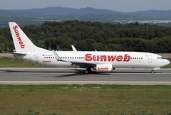 XL Germany (Sunweb) B737-8Q8 D-AXLE GRO 02/08/2011 (jordi757) Tags: nikon airplanes girona boeing costabrava 737 lege avions gro d300 b737800 daxle xlgermany sunweb