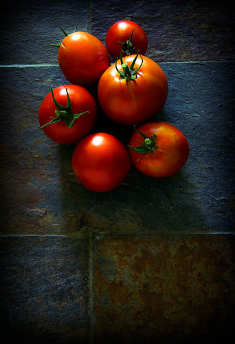 six tomatoes  by McBeth