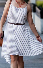 urban outfitters cope frock striped dress
