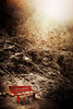 Panchina rossa (Iguana Jo) Tags: red italy mountain bench rosso montagna dolomites dolomiti südtirol altoadige panchina forcella sassolungo forcellasassolungo