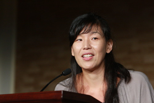 Ai-Jen Poo spoke on Jobs and the American Dream today in DC