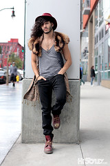 HiStyley | Vine Street Style #381 (HiStyley) Tags: california ca street city portrait people men guy hat fashion scarf la losangeles boots style 11 jeans hollywood streetfashion 2011 streetstyle histyley