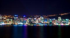 #245 Wellington CBD (Paul Wallace (NZ)) Tags: newzealand night lights waterfront harbour parade nz wellington cbd oriental afterdark project365 365245