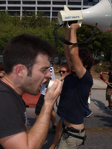 Greek students take to the streets to protest controversial education reforms by Teacher Dude's BBQ