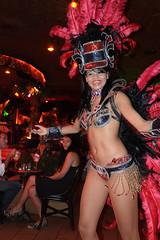Bresilian dancer in Pam-pam Juan-les-Pins (MagicVince) Tags: summer nikon dancer antibes juanlespins frenchriviera 2011 bresilian danceuse pampam coredazur 18105mmf3556gvr d5100