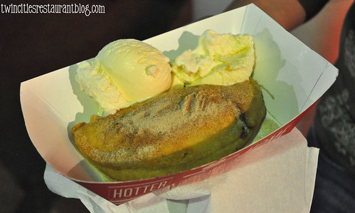 Deep Fried Apple Pie at Minneapple ~ Minnesota State Fair