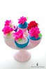 Shabby Chic Fun! (Little Cottage Cupcakes) Tags: toy cupcakes felt peony littlecottagecupcakes
