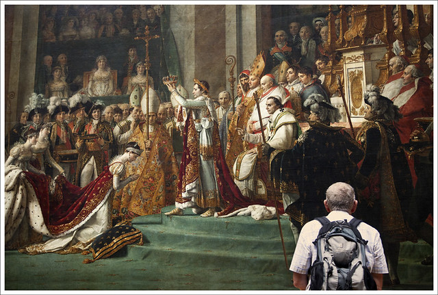Louvre 3 (Coronation of Napoleon And Josephine)
