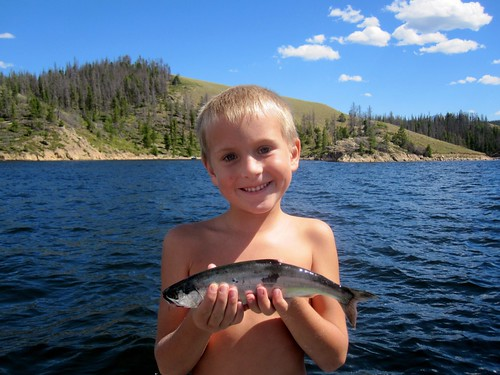 The delicious fish that Jack caught at Lake Granby