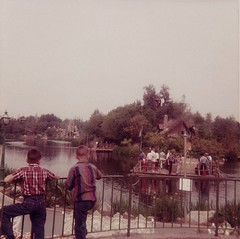 Family Album (Jasperdo) Tags: california disneyland raft anaheim 1964 tomsawyersisland riversofamerica vintagedisneyland