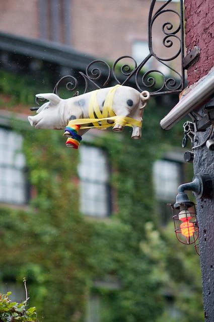 Hurricane Irene: Spotted Pig