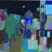 Apunte de Marruecos. 24x33, acrílico sobre papel de lienzo.
