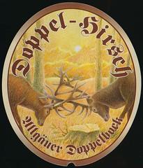 Doppel-Hirsch - Der Hirschbru Privatbrauerei Hss (JoeSeliske) Tags: bier der sonthofen bavariagermany privatbrauerei doppelbock hss hirschbru doppelhirsch