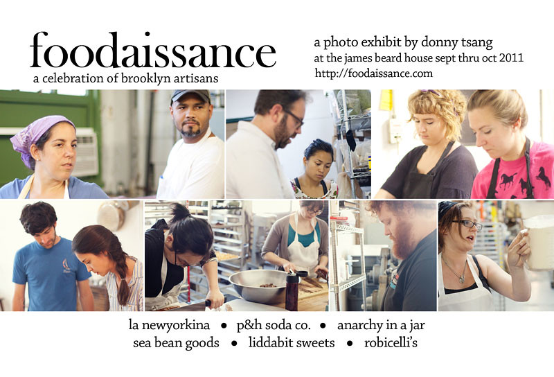 Foodaissance Show at The James Beard House