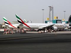 Emirates Boeing 777-300ER (A6-ECD) (ogepma) Tags: los dubai first class lagos emirates ek airlines klasse dxb omdb