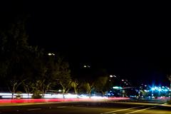 Night Lights [GP Rnd 7] (dawn.anderson) Tags: longexposure bridge night lights streaks getpushed
