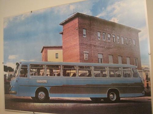 Autocar Setra de l'empresa POU de Les Olives.