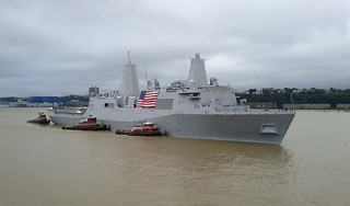 USS New York arrives in New York City to participate in commemorations of the Sept. 11, 2001 terrorist attacks