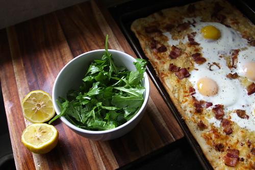 arugula lemon & olive oil