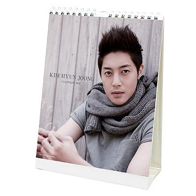 Kim Hyun Joong Japan Pre-Order 2012 Wall and Table Calendars