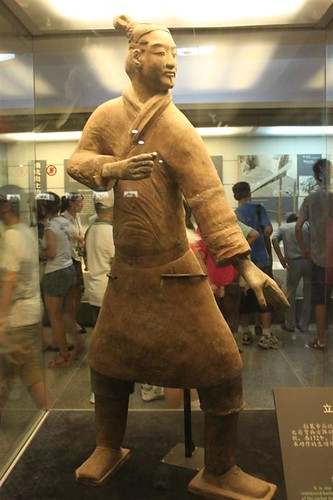 Standing Archer at Terra-cotta Warriors, Xian China