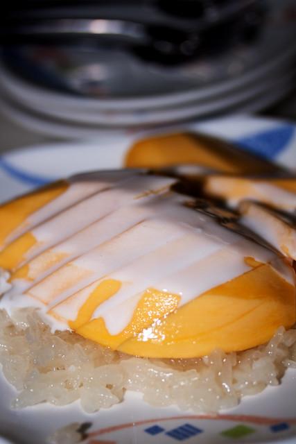 Mango with Sticky Rice @ $6