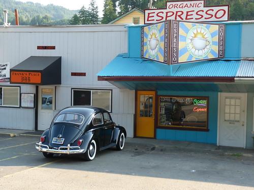 Between Florence and Eugene Oregon by Jack Crossen