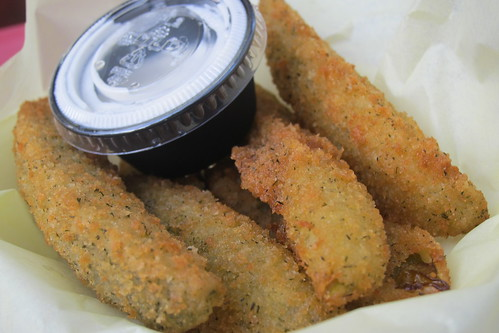 LA County Fair: Fried Dill Pickles