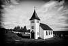 Oddi Church (leehobbi) Tags: travel vacation blackandwhite bw church blackwhite iceland holga monochromatic steeple hdr oddi icelandtravelvacation icelandtravelvacationchurchoddisteeple