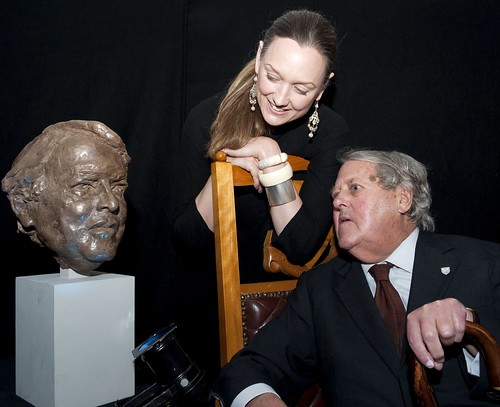 Bust of Asa Briggs unveiled
