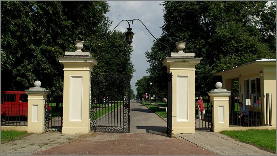 Puławy Pałac Czartoryskich
