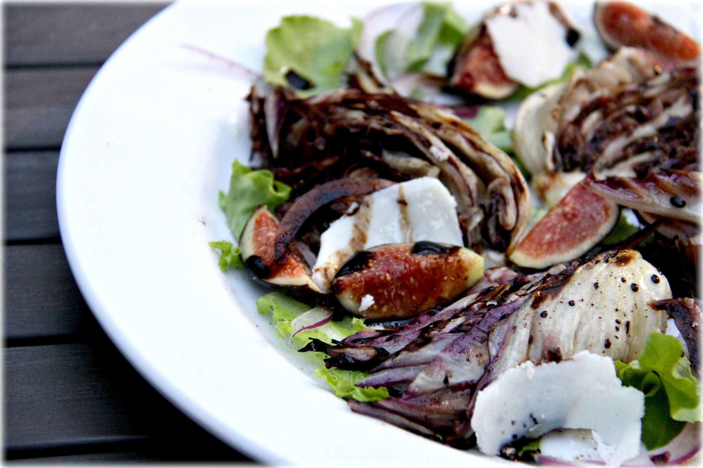 Grilled Radicchio Salad Recipes — Dishmaps