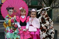 Carnavales en la Plaza Cardenal Orbe.
