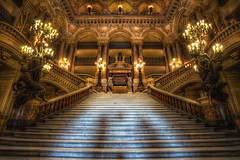 The Phantom of the Opera (TheFella) Tags: longexposure paris france slr statue architecture stairs digital photoshop canon eos photo high opera europe candles ledefrance dynamic interior gothic entrance grand lobby photograph staircase processing slowshutter palais 5d inside dslr phantom operahouse opra garnier range hdr highdynamicrange alcove grandstaircase thephantomoftheopera markii palaisgarnier postprocessing parisopera rpubliquefranaise opragarnier charlesgarnier photomatix opradeparis frenchrepublic placedelopra rgionparisienne parisopra parisregion halll thefella 5dmarkii conormacneill thefellaphotography