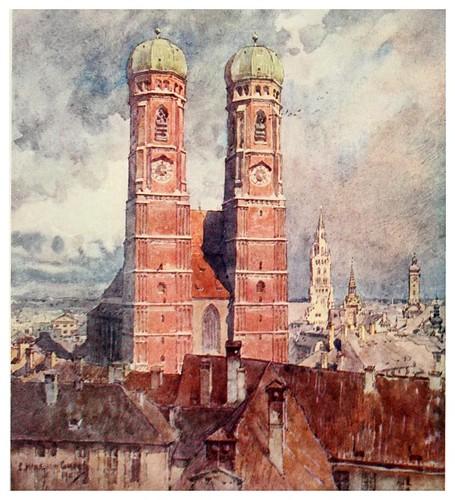008-Catedral de Munich-Germany-1912- Edward y Theodore Compton ilustradores