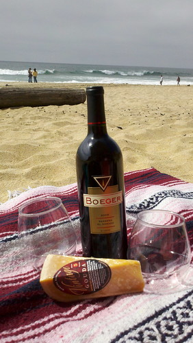 Picnic in Half Moon Bay