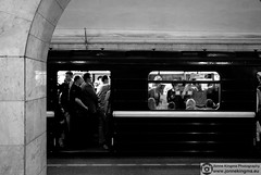 "Sankt Petersburg - metropolitan (Just a guy who likes to take pictures) Tags: voyage street door city travel 2 portrait people urban bw en white man black male window public monochrome station saint st standing underground subway photography und reisen europa europe doors fotografie open metro russia candid transport tube streetphotography sint bahnhof petersburg line human transit stadt sit ubahn mister saintpetersburg mass zit herr zwart wit weiss metropolitan schwarz stad rusland sankt staan straat zw reizen ov vervoer zitten санктпетербург meneer sintpetersburg openbaar ""public straatfotografie transport"" sanktpeterboerg"