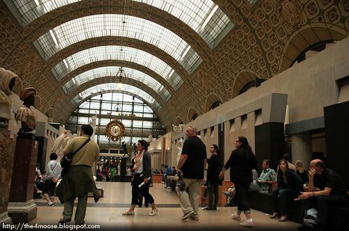 Musee d'Orsay - Interior