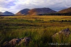 Boheeshal Connemara Galway Ireland. (Mick Bourke.) Tags: ireland light sunset mountains galway landscape scenery rocks bokeh hills connemara canon24105f4lis canon60d mickbourke boheeshal