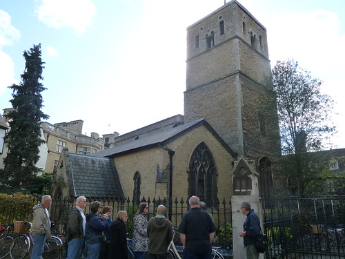Tour Group at St Benet's Church