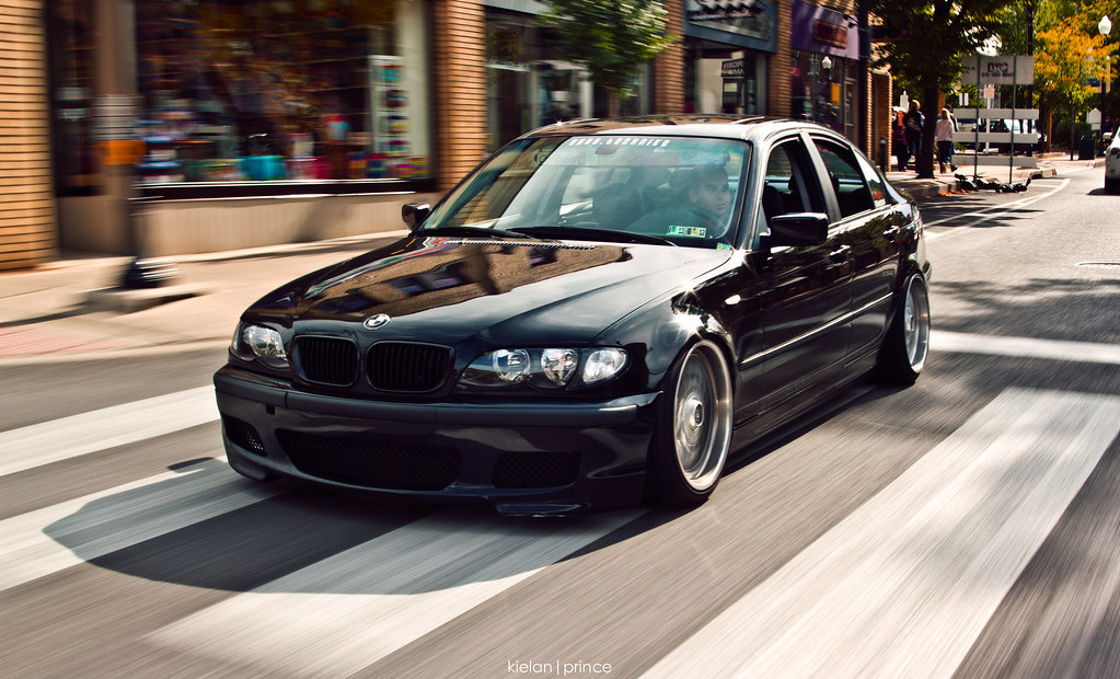 Kielan Prince Tags Black Sedan Canon Low Bmw 325i Lowered Slammed