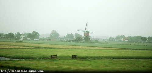 Thalys 9323 - Windmill in Netherlands