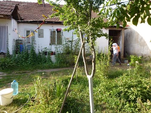 Ferdane's house in an Ashkali section of Fushe Kosova.