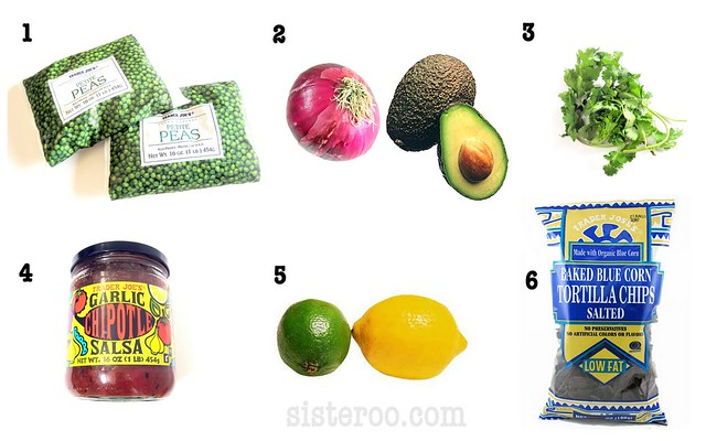 Sisteroo sweet pea guacamole how-to