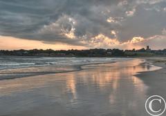 Second Beach Sunset, Middletown RI.