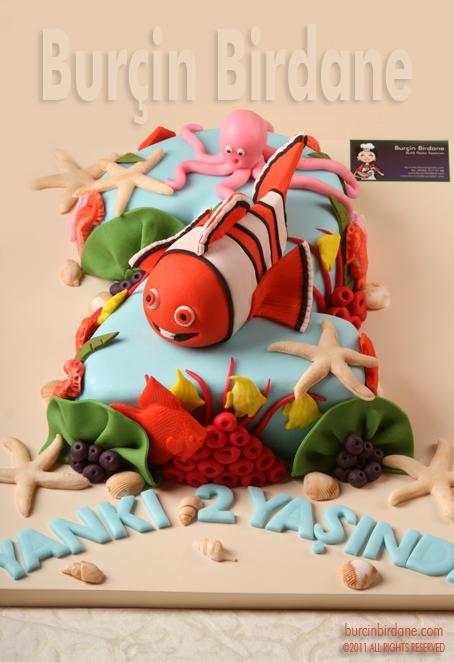 Kayip Balik Nemo 2 Yas Pastasi
